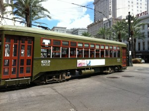 NOLA Trolley Car